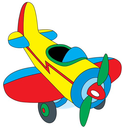 Toy Plane Clipart - Clipart Kid