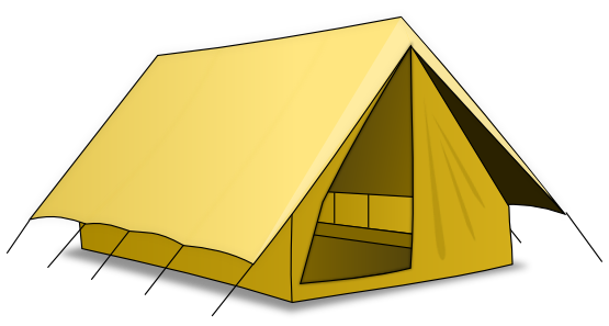 Camping Tent Clip Art   Images   Free For Commercial Use