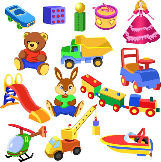 children playing toys clipart - photo #30