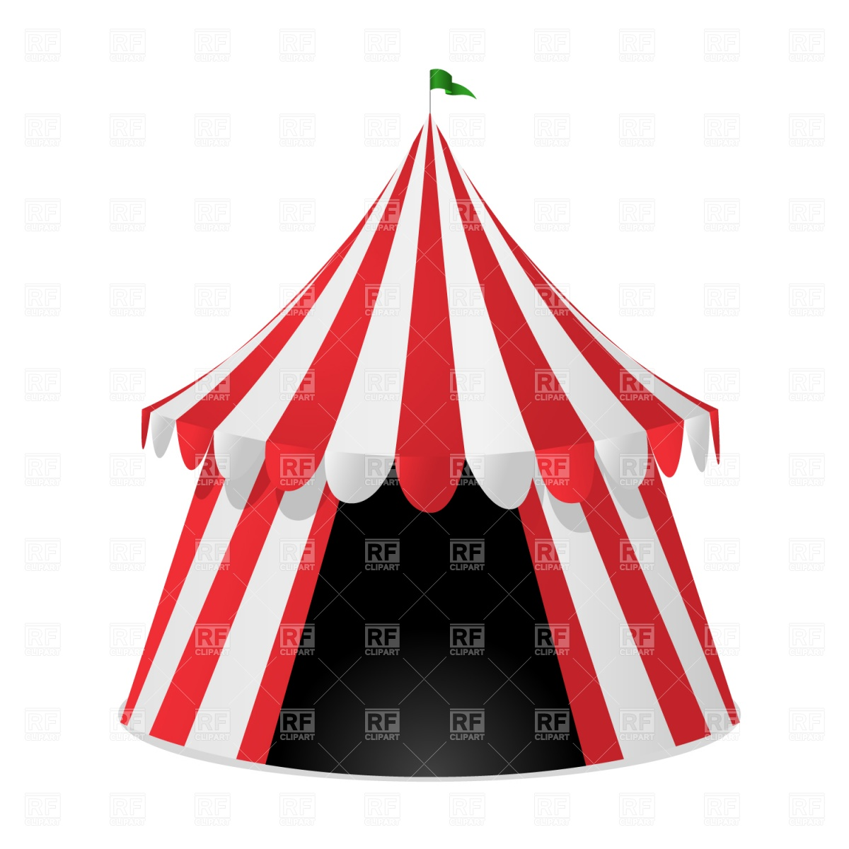 Circus Tent Download Royalty Free Vector Clipart  Eps