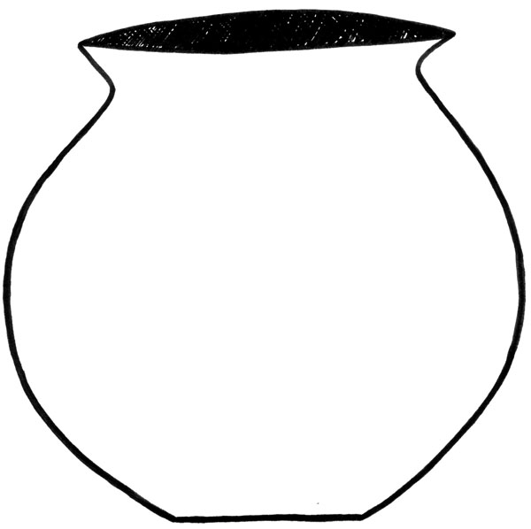 Clay Pot Outline Free Cliparts That You Can Download To You