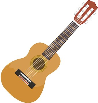 Guitar Clipart - Clipart Kid