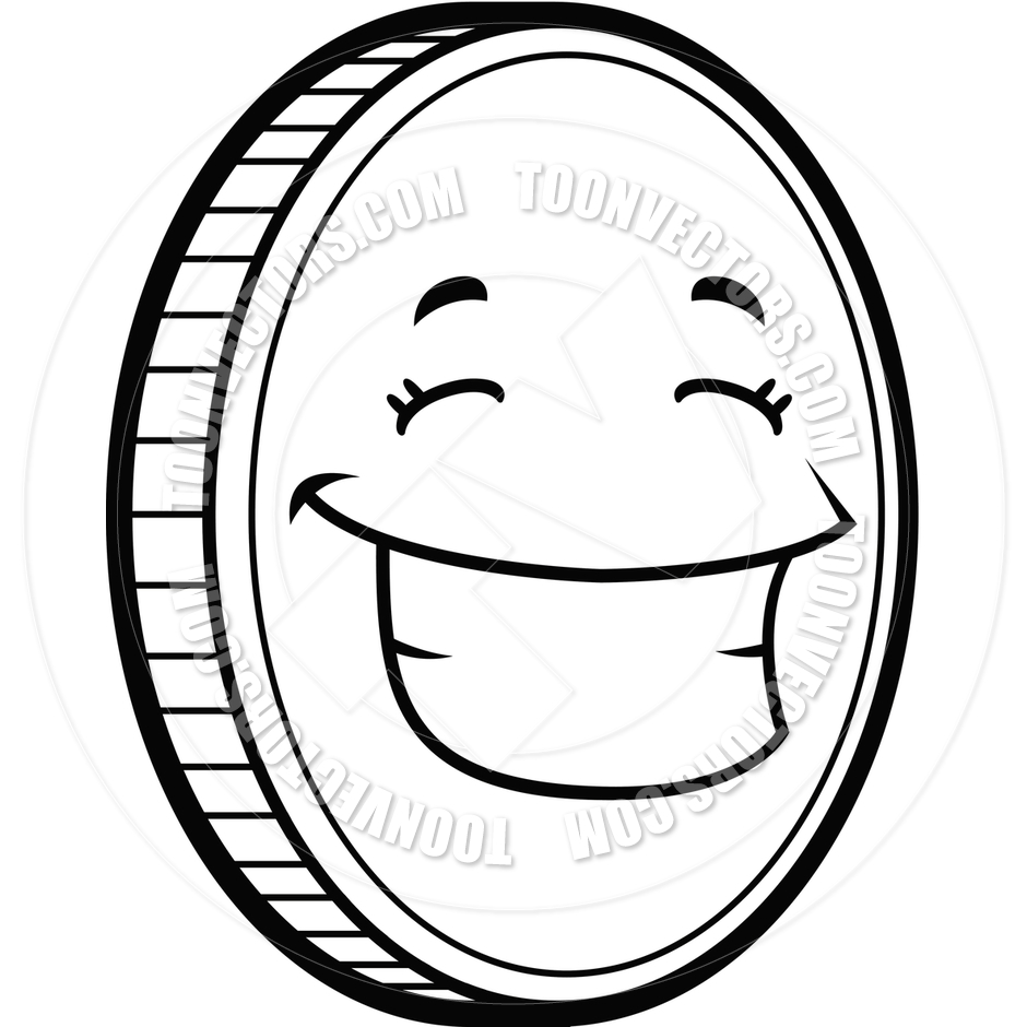 Black And White Cartoon Money Clipart - Clipart Kid