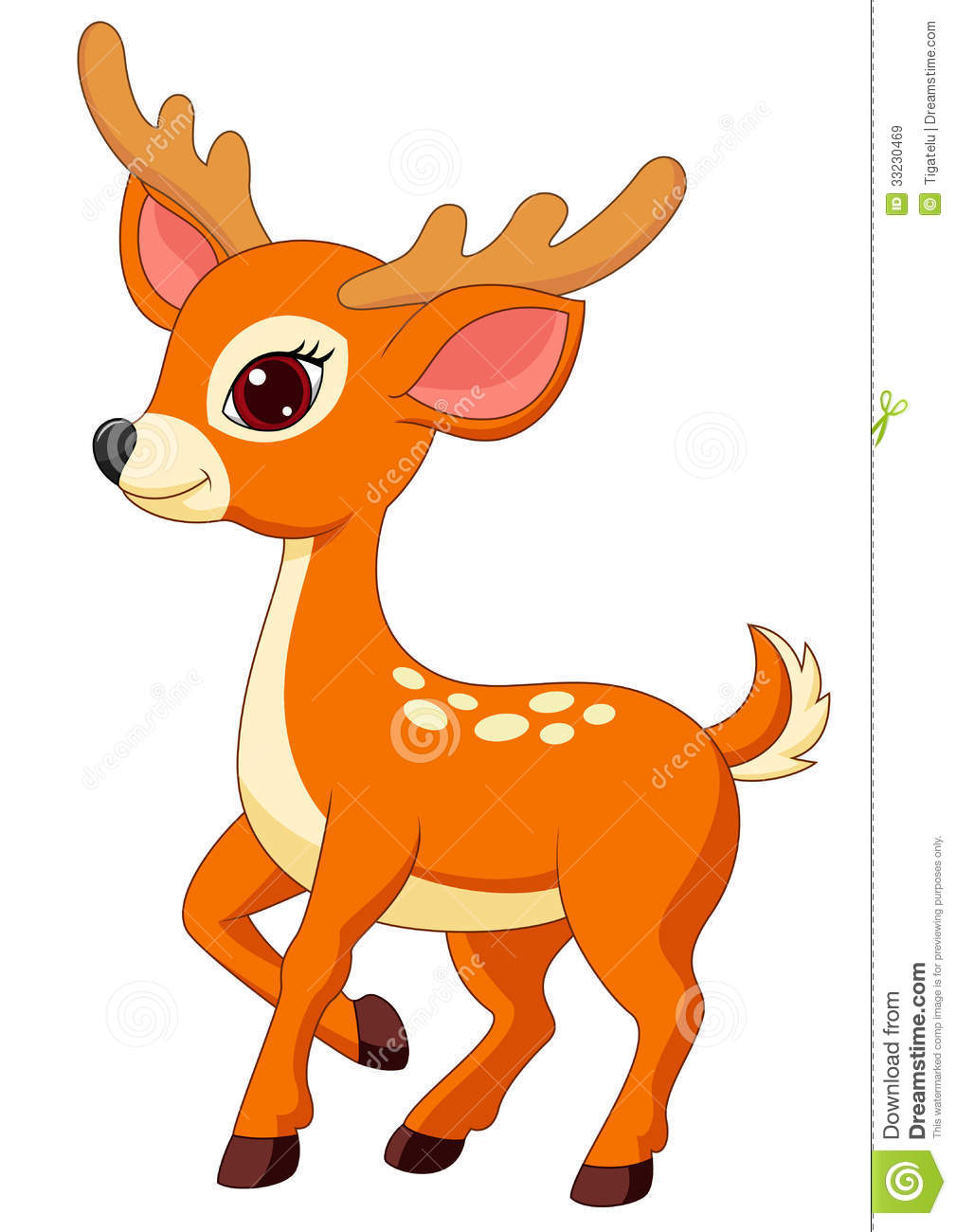 Cute Baby Deer Clipart Suggest
