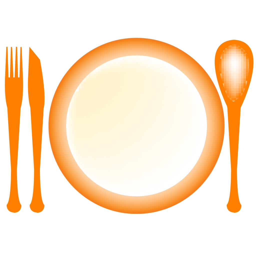 Dinner Plate Clip Art   Clipart Panda   Free Clipart Images