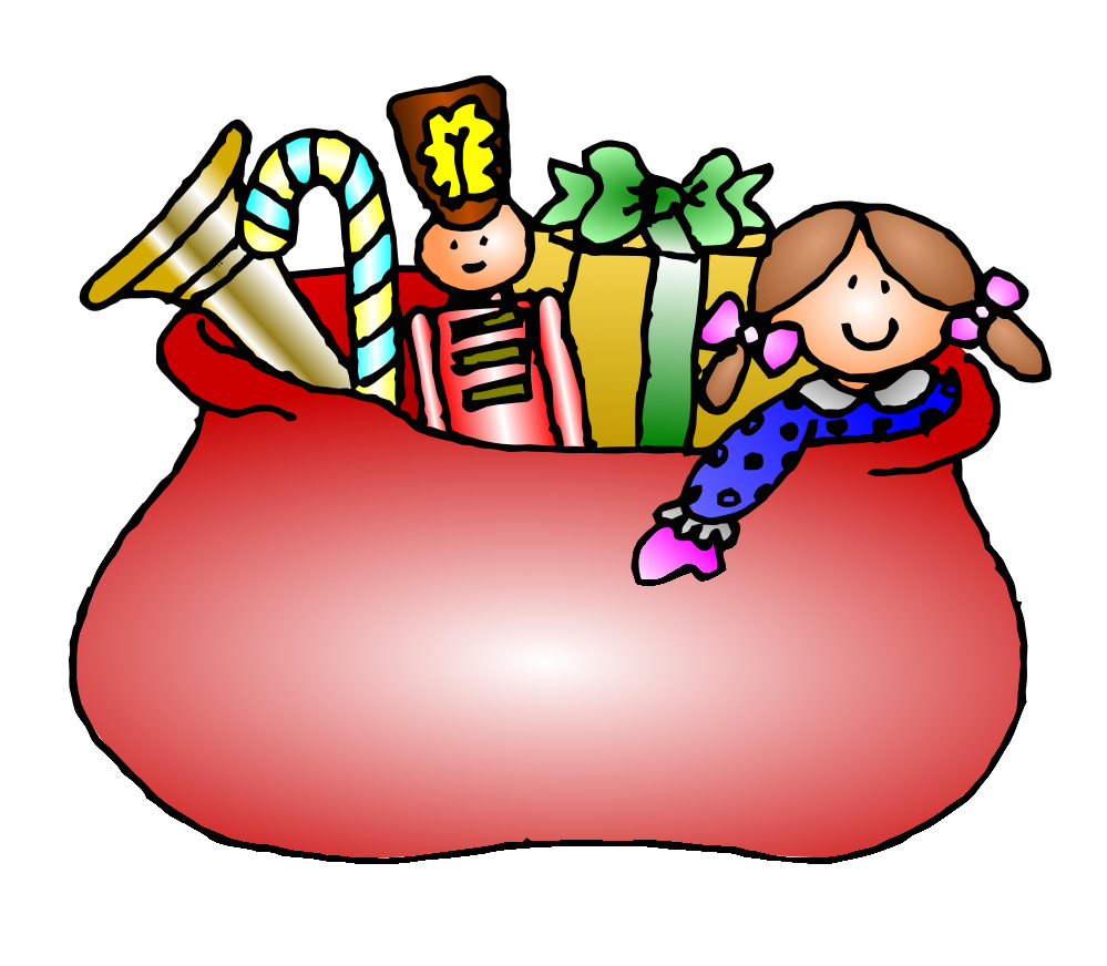 Toy gift basket clipart clipart kid
