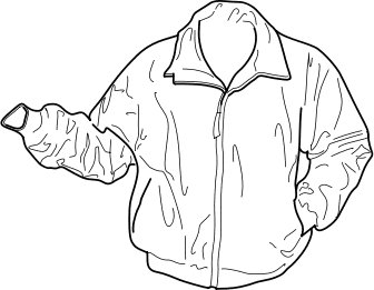 Free Jacket Bw Clipart   Free Clipart Graphics Images And Photos