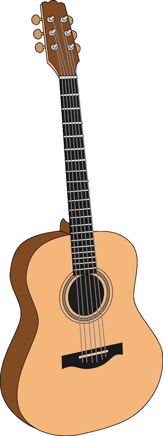 Acoustic Guitar Clipart - Clipart Kid