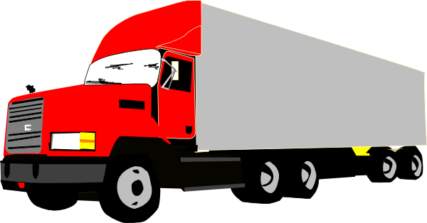 Tractor Trailer Clip Art : Truck and trailer clipart suggest