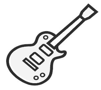 Clip Art Clipart Guitar guitar clipart kid clip art image panda free images