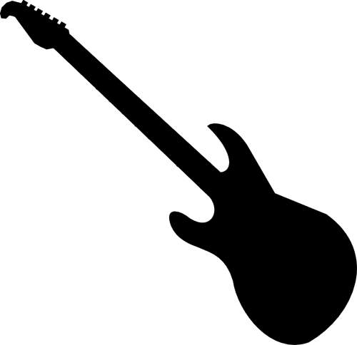 Guitar Clipart Black And White   Clipart Panda   Free Clipart Images