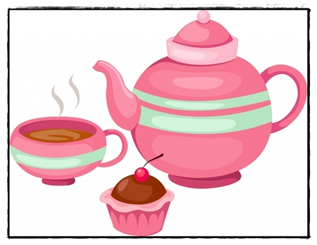 High Tea Clipart - Clipart Kid