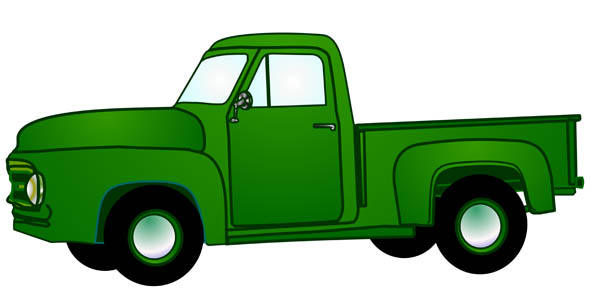 Old Truck Clipart - Clipart Kid