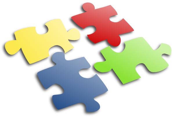 Jigsaw Puzzle Clip Art At Clker Com   Vector Clip Art Online Royalty