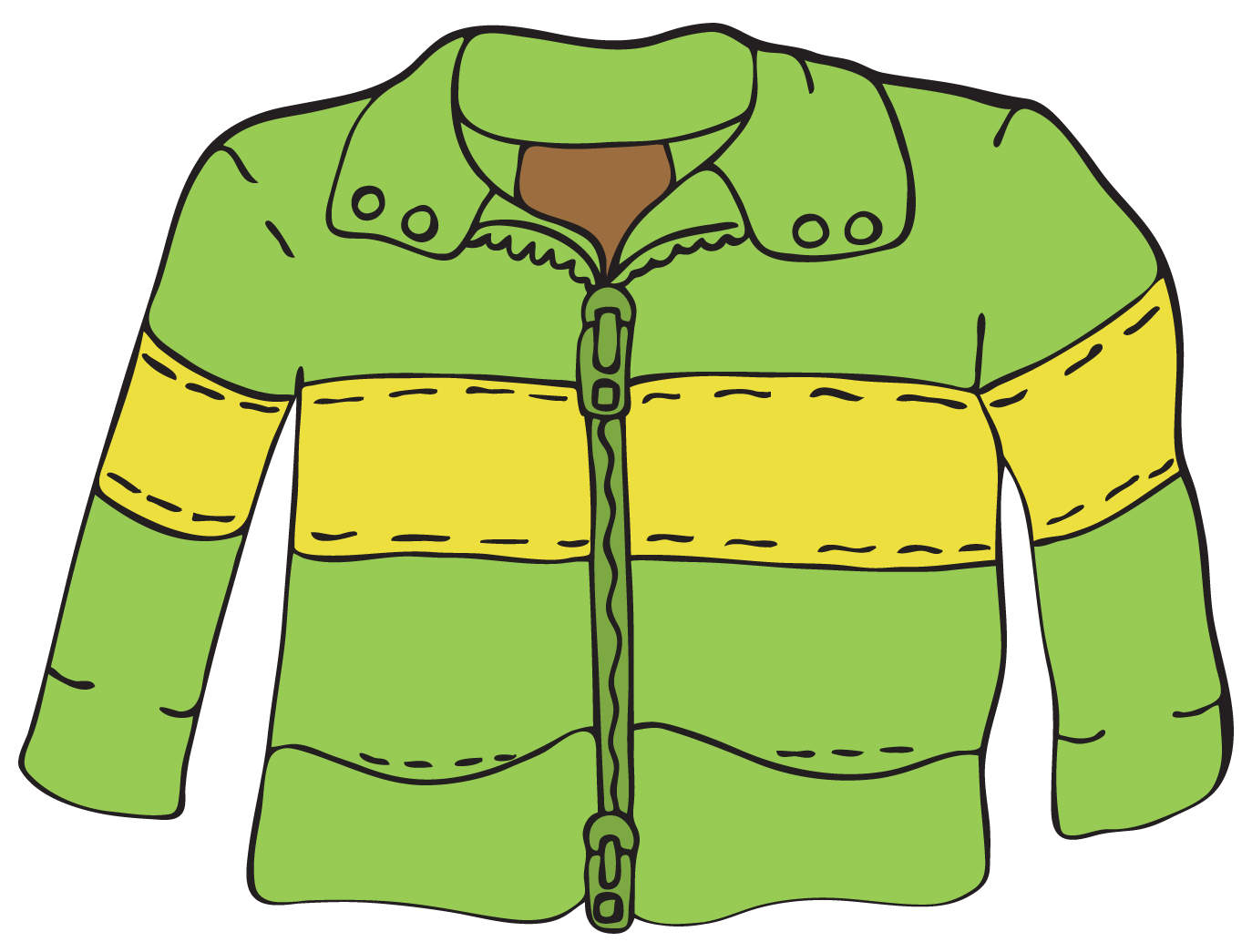 free clip art yellow jacket - photo #48