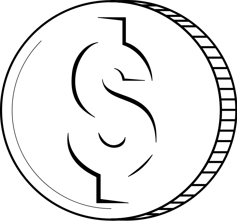 Money Clip Art Black And White   Clipart Panda   Free Clipart Images