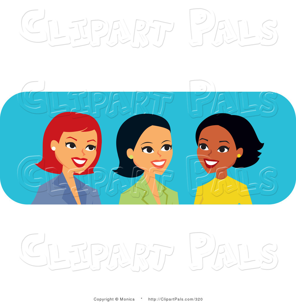 Black Women Friends Clipart - Clipart Kid