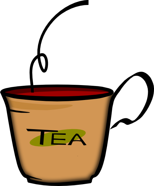 Printerkiller Cup Of Tea Clip Art
