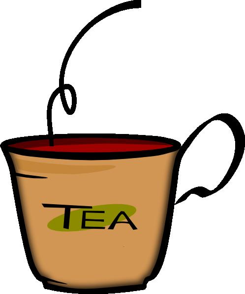 Microsoft Animated Having Tea Clipart - Clipart Kid