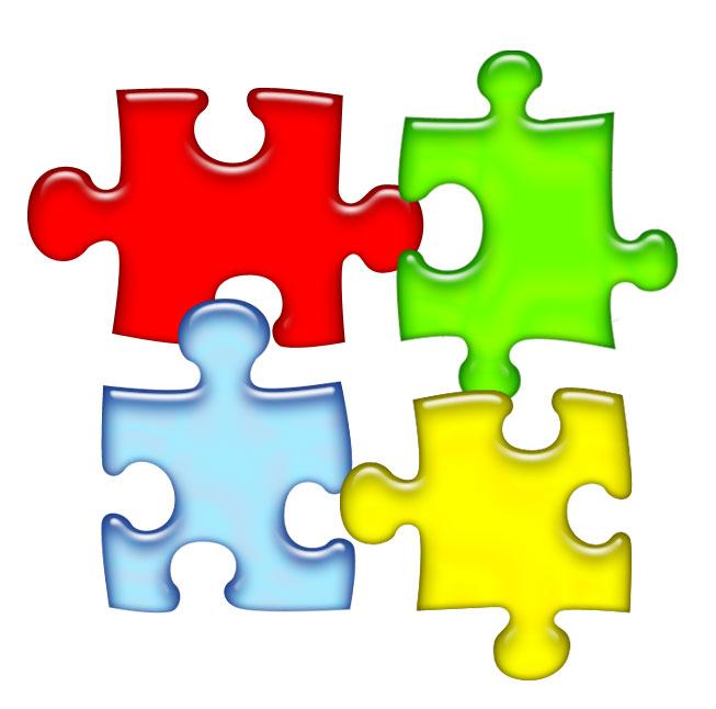 Puzzle Clipart 4