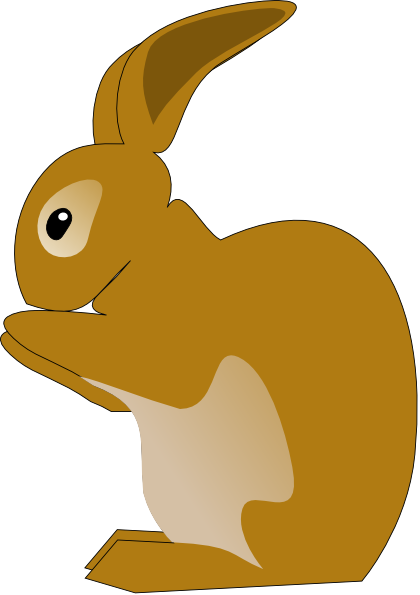 Cute Rabbit Clipart - Clipart Kid
