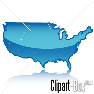 Related Usa Map Cliparts