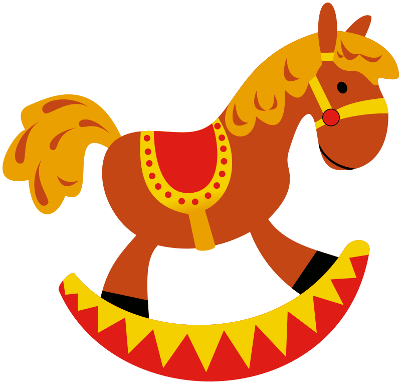 Rocking Horse Clip Art   Images   Free For Commercial Use