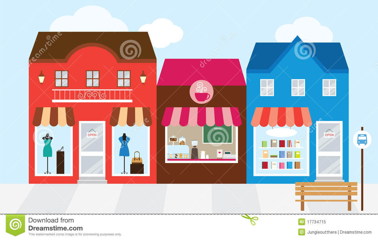 Shopping Building Clipart - Clipart Kid