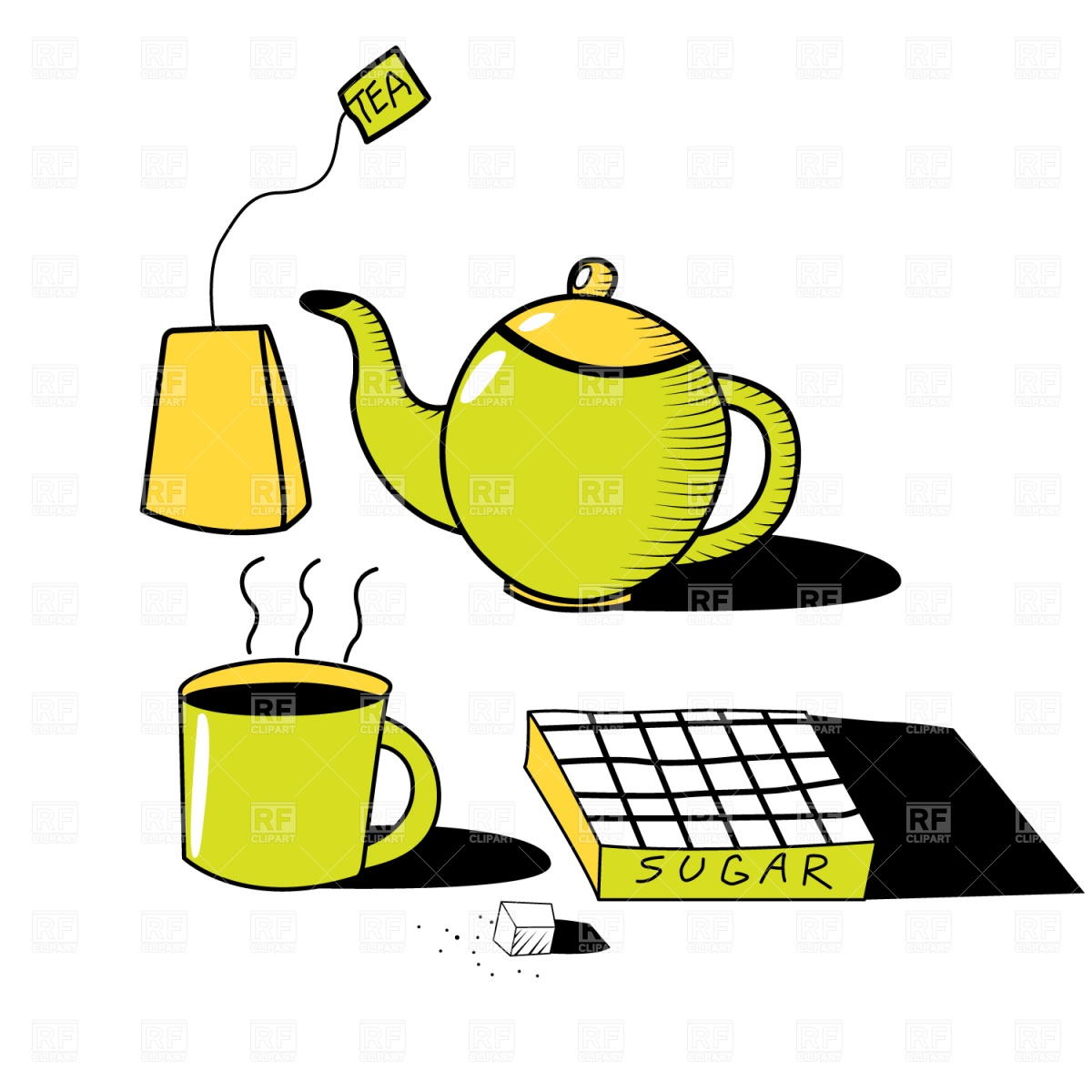 Tea Clipart - Clipart Kid