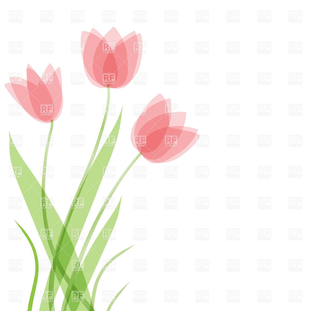 Tulip Border Clipart - Clipart Kid