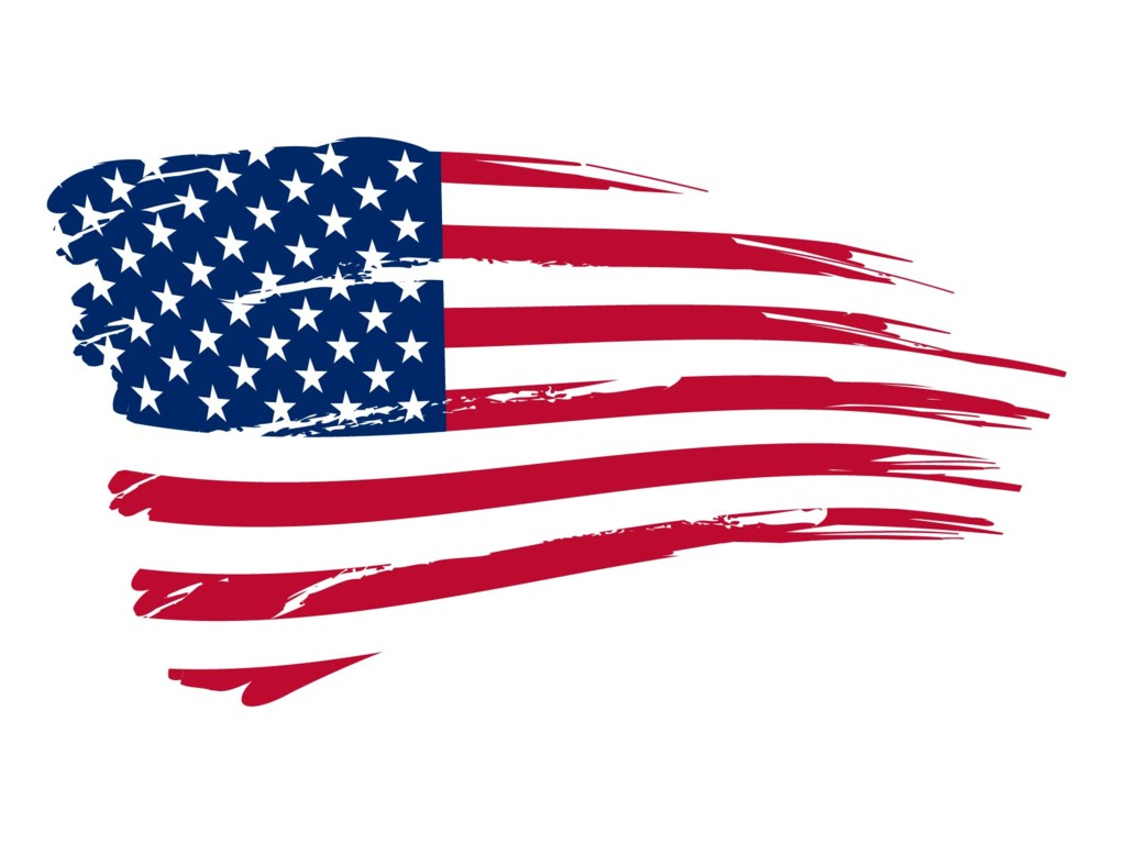 United States American Flag Clipart - Clipart Kid
