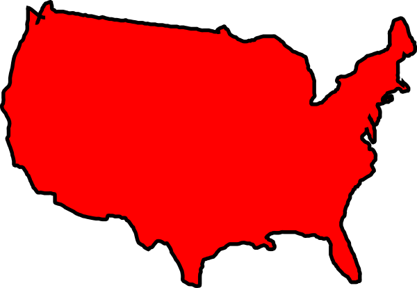 Usa Clip Art Maps   Clipart Panda   Free Clipart Images