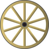 Wagon Wheel Stock Illustrations  448 Wagon Wheel Clip Art Images And