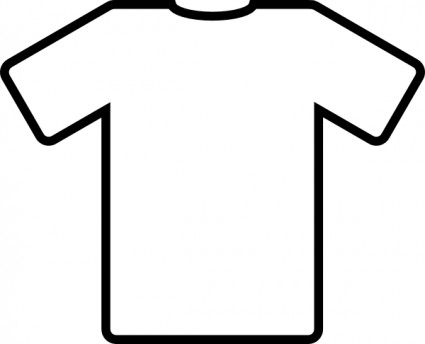 White T Shirt Clip Art Free Vector In Open Office Drawing Svg    Svg