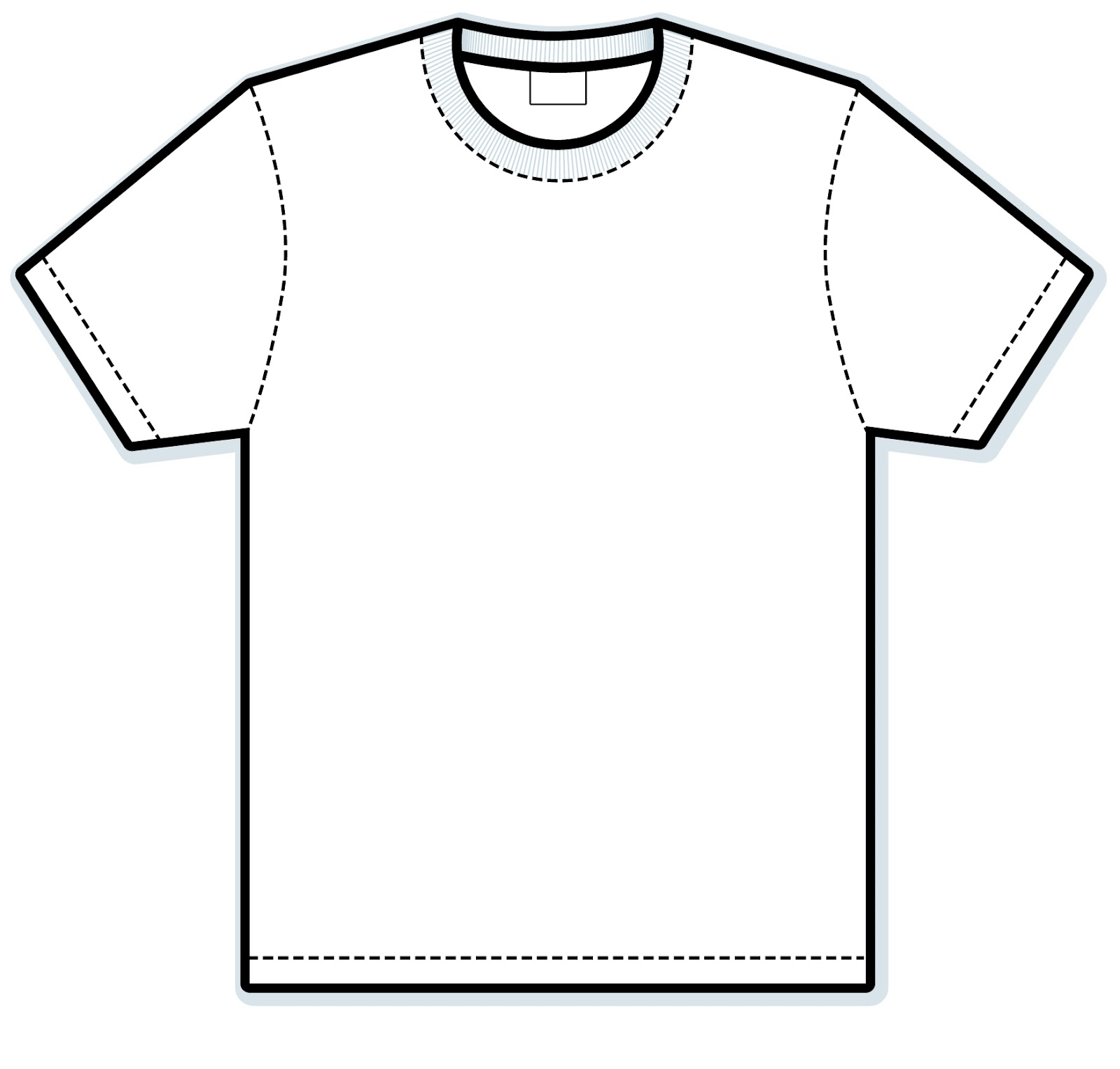 White T Shirt Drawing   Clipart Best