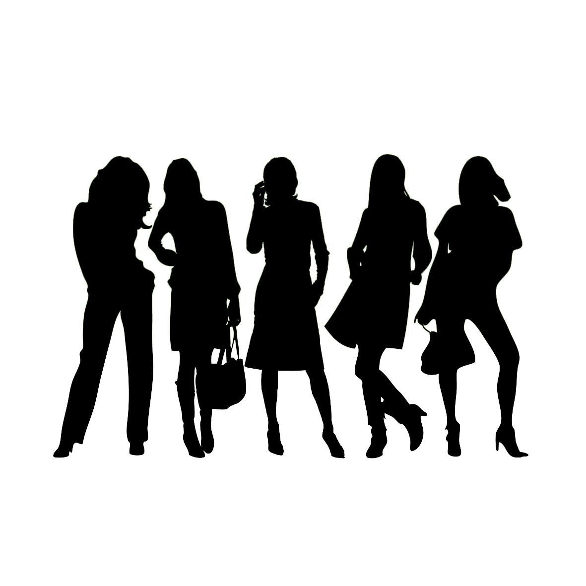 Women Group Silhouette