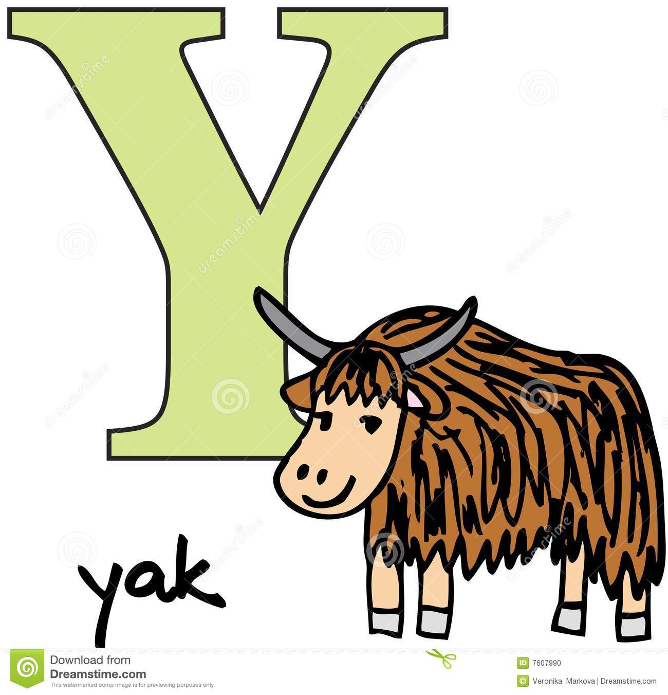 Yak Clipart Animal Alphabet Y Yak 7607990 Jpg #OBoR3c - Clipart Kid