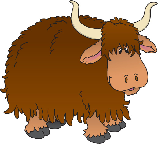 cartoon yak clipart clipart suggest scary clip art free scary clip art alphabets gif