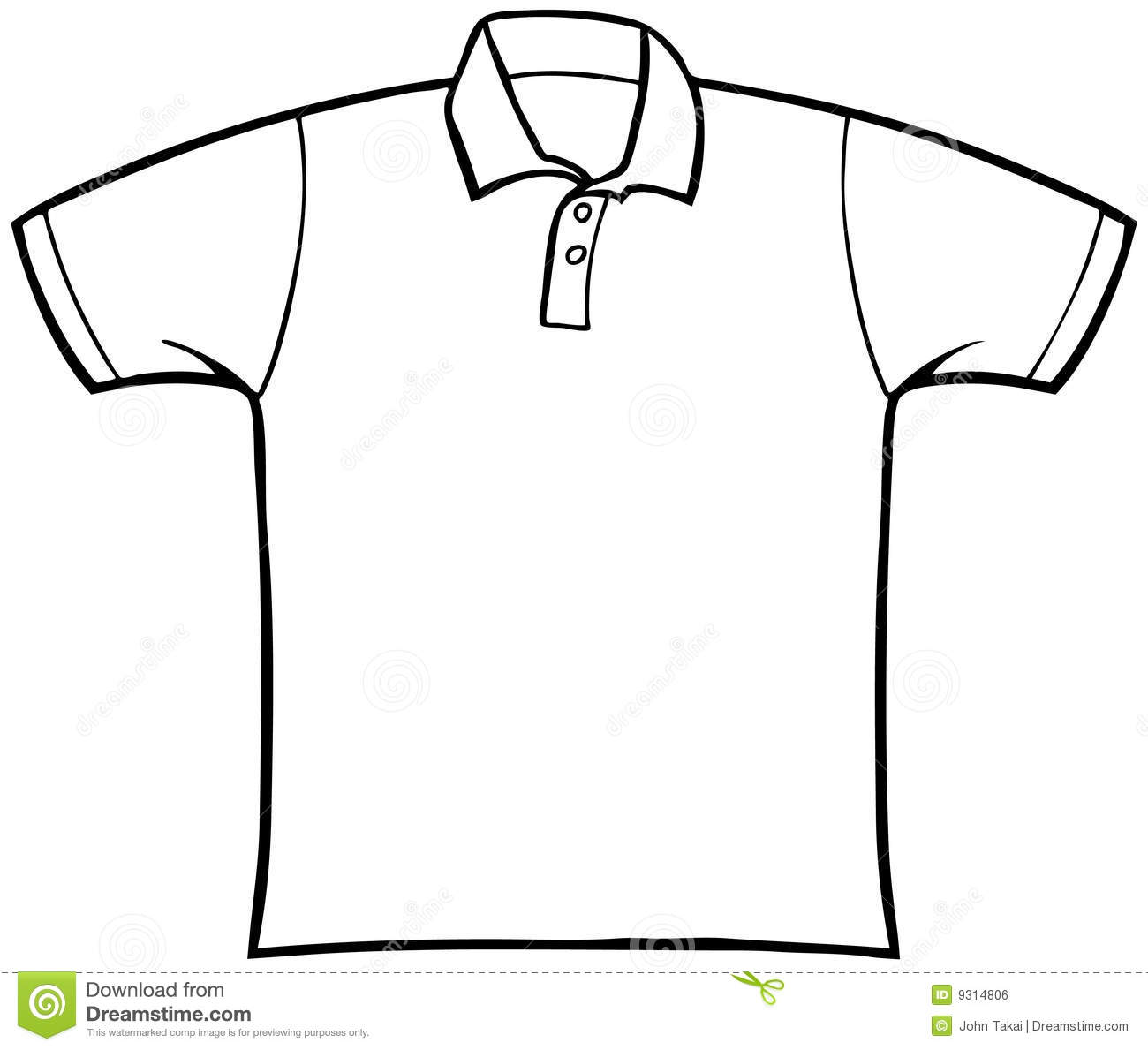 T-shirt Outline Clipart - Clipart Suggest