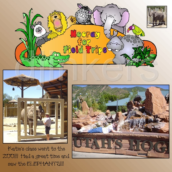 Clipart To Theme Your Classroom With Zoo Animals By Dj Inkers