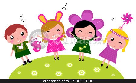Spring Party Clipart - Clipart Suggest