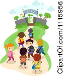 Royalty Free  Rf  Field Trip Clipart Illustrations Vector Graphics
