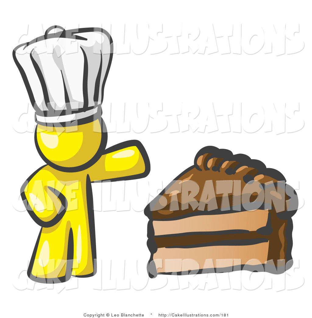 Slice Of Chocolate Frosted Cake Cake Clip Art Leo Blanchette