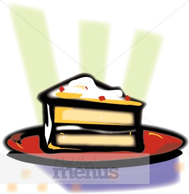Yellow Cake Clipart The Rays Of Light Coming From This Piece Of Cake