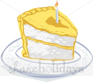 Yellow Sliced Cake Clipart