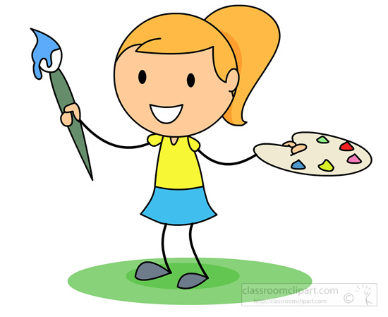 Paint Supplies Clipart - Clipart Kid