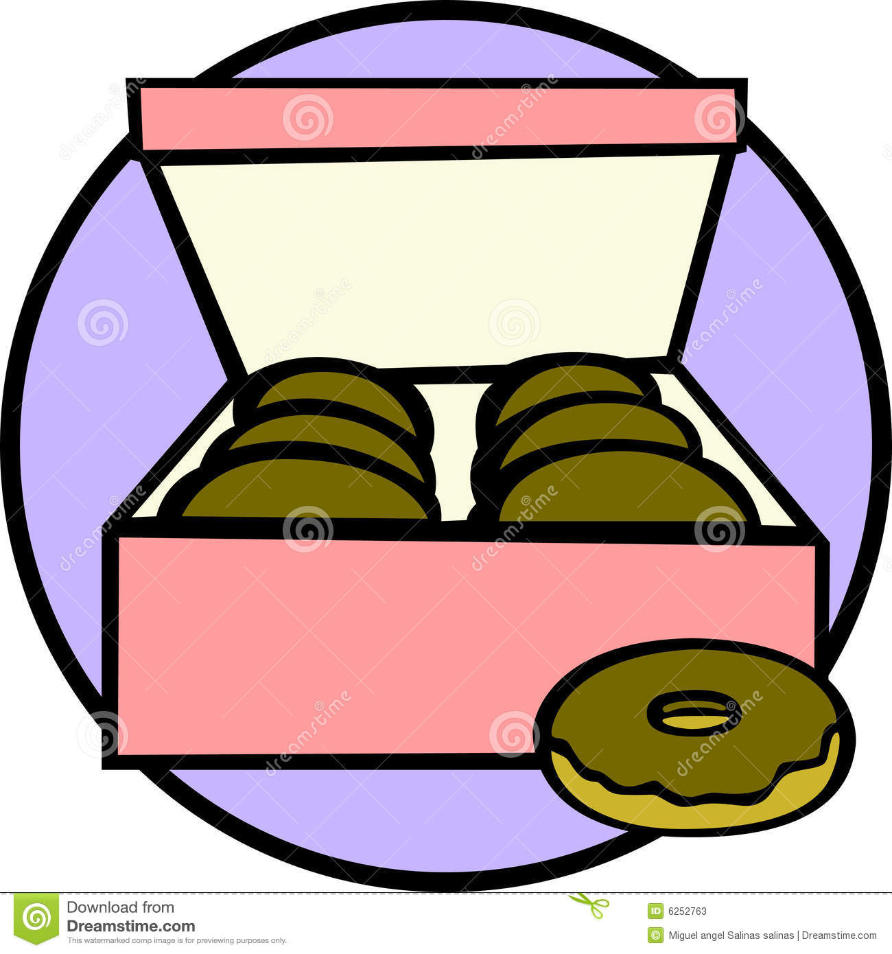 Box Of Donuts Clipart Box Of Donuts Vector