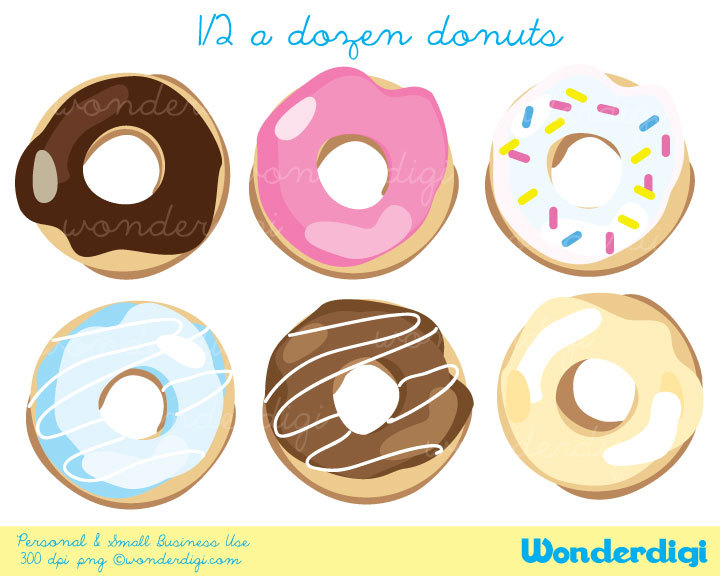 Box Of Donuts Clipart Donuts Clip Art   Donut