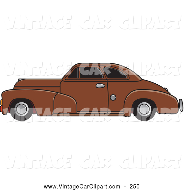 Car With Tinted Windows Vintage Car Clip Art Lal Perera