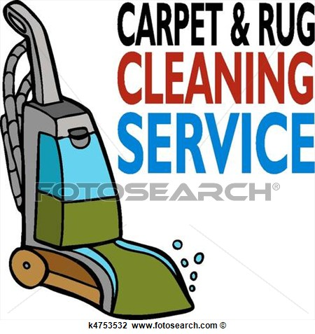 Carpet Cleaning Service View Large Clip Art Graphic